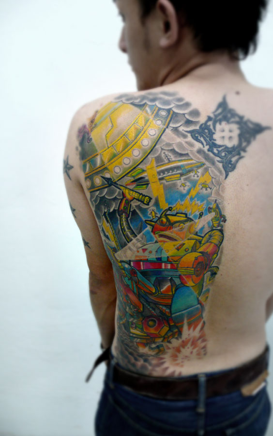 new skool robot tattoo. Category: Uncategorized / Tags: no tag / Add Comment
