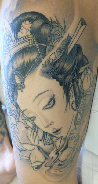 Category: Uncategorized / Tag: geisha, oriental tattoo / Add Comment